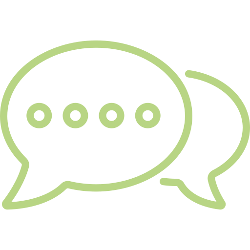 Chat icon - digital transformation - digital consulting